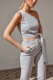 Mally Suit - Light Grey