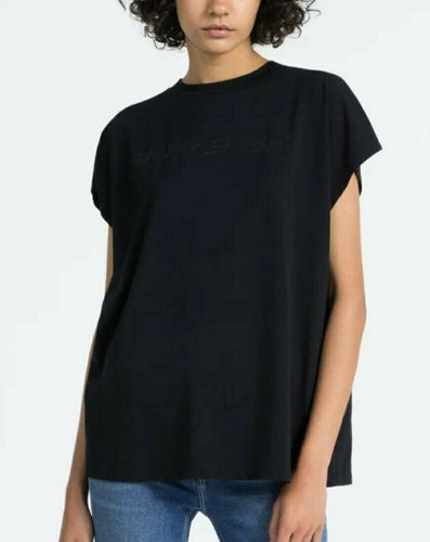 CALVIN KLEIN INSTITUTIONAL LOGO MUSCLE T-SHIRT