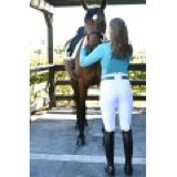 Load image into Gallery viewer, DESTINY SUPER-X FRONT ZIP DRESSAGE BREECHES WITH GRIP-TEC™ SILICONE