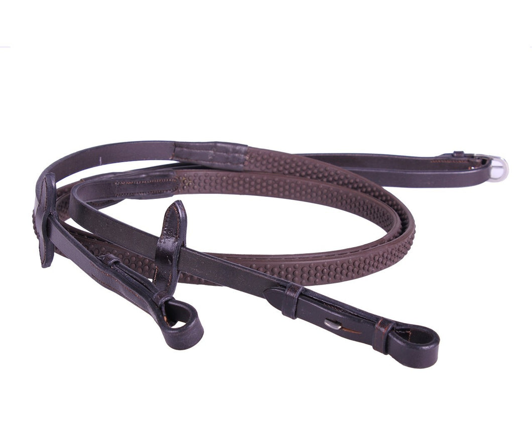 QHP Rubber Soft Reins