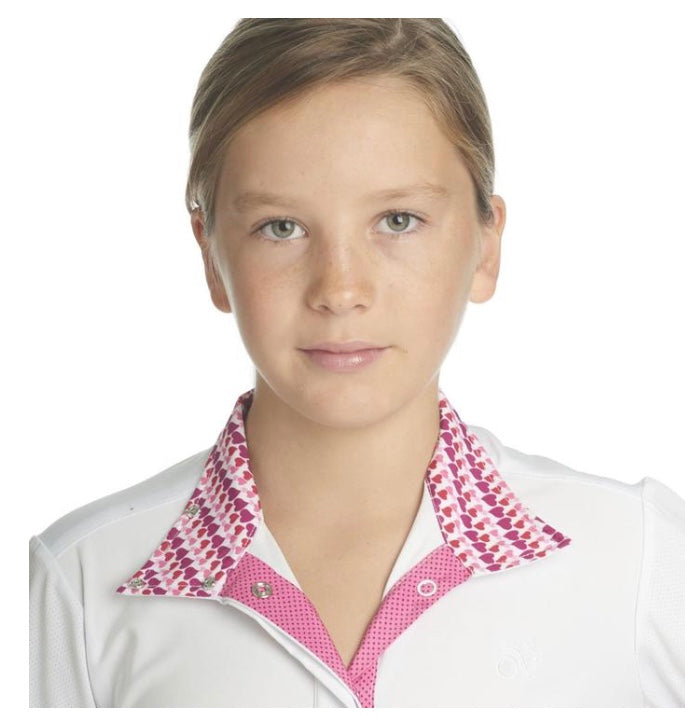 Ovation Ellie QTR Snap Long Sleeve Show Shirt-Child's