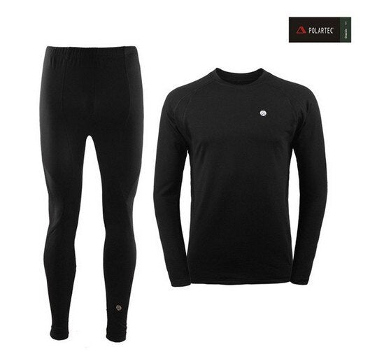 2019 New Winter Men Thermal Underwear Sets Elastic Warm Fleece Long Johns for Men Polartec Breathable Thermo Underwear Suits
