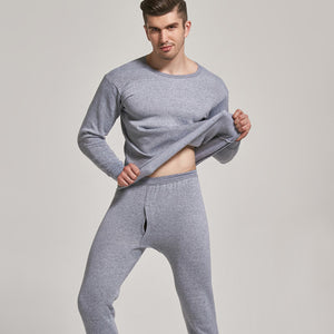 Queenral Thermal Underwear Winter Thick Thermo Underwear Warm Long Johns Thermal Autumn Winter Plus Size M-4XL