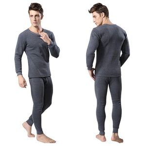 Men's Thermal Underwear Sets Winter Warm Men's Underwear Men's Thick Thermal Underwear Long Johns NEW V3