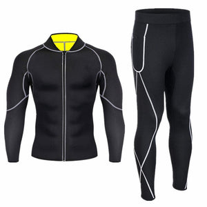 New Thermal Underwear Men Sets Quick Dry Stretch Thermo Underwear Compression Warm Male Long Johns Fitness Men Thermal Underwear