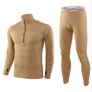 New Thermal Underwear Sets For Men Winter Long sleeve Thermo Underwear Long Winter Clothes Men motion Thick Thermal Clothing