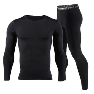 Long Johns Winter Thermal Underwear Sets Men Brand Quick Dry Anti-microbial Stretch 2017 Men's Thermo Underwear Male Spring Warm