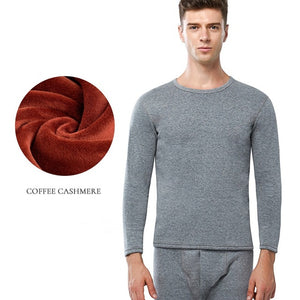 Hot Sale 2018 New Thermal Underwear For Men Long Johns Winter Women Thermo Shirt+pants Set Warm Thick Fleece Size L-XXXL