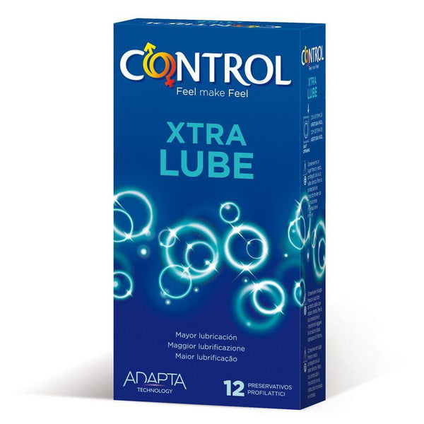CONTROL EXTRA LUBE 12 UDS - Chocolate-Love-sexshop