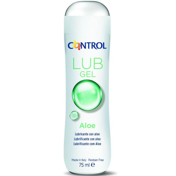 CONTROL LUB GEL LUBRICANTE CON ALOE 75 ML - Chocolate-Love-sexshop