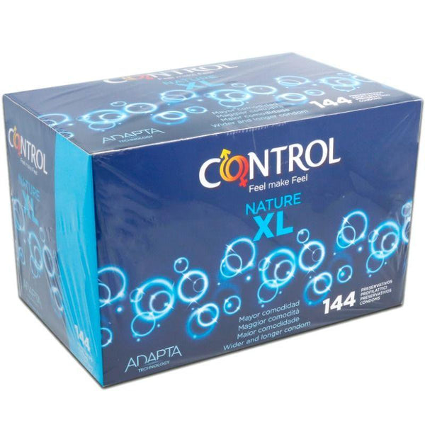 CONTROL NATURE XL 144 UNIDADES - Chocolate-Love-sexshop