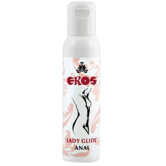 EROS LADY LUBRICANTE ANAL BASE SILICONA MEDICA 100 ML - Chocolate-Love-sexshop