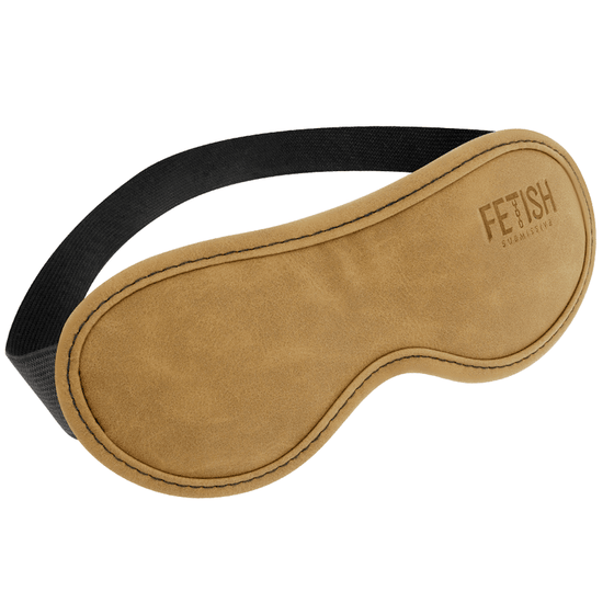 FETISH SUBMISSIVE ORIGEN ANTIFAZ CUERO VEGANO II - Chocolate-Love-sexshop