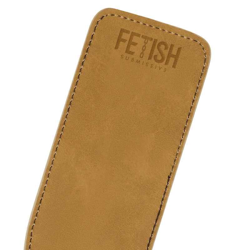 FETISH SUBMISSIVE ORIGEN FUSTA CUERO VEGANO - Chocolate-Love-sexshop