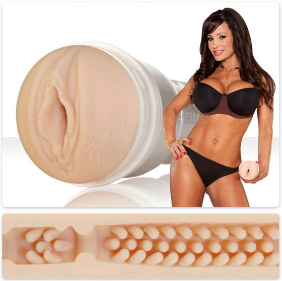 FLESHLIGHT GIRLS VAGINA LISA ANN BARRACUDA - Chocolate-Love-sexshop