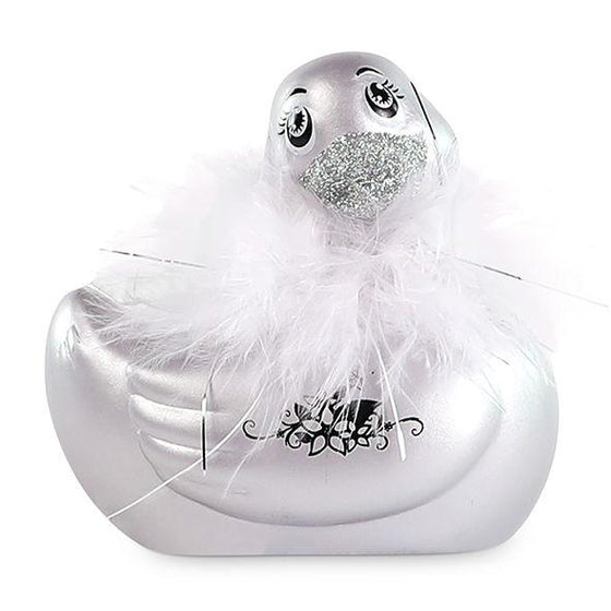 I RUB MY DUCKIE 2.0 | PATO VIBRADOR PARIS (SILVER) - Chocolate-Love-sexshop