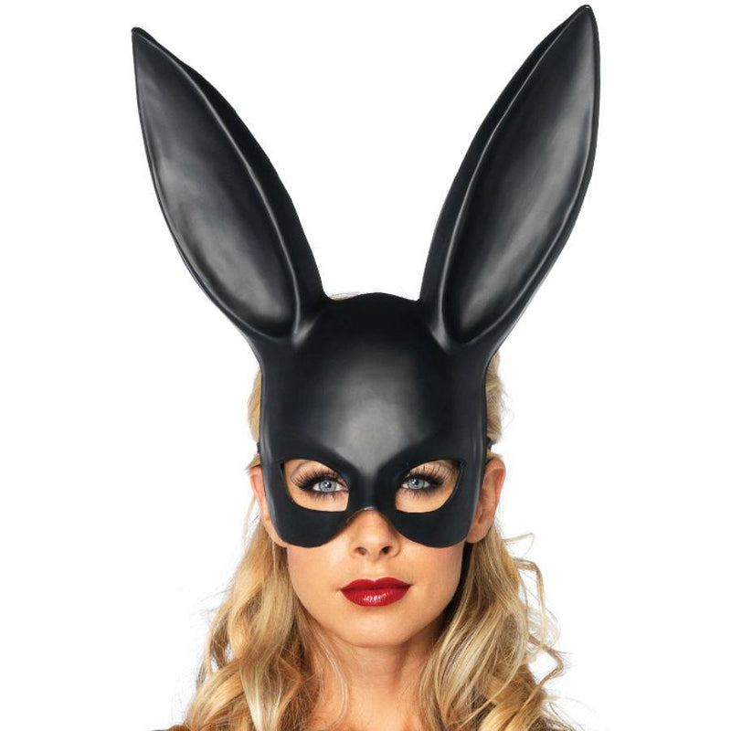 LEG AVENUE MASQUERADE RABBIT NEGRO - Chocolate-Love-sexshop
