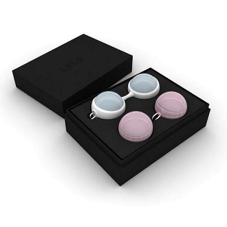 LELO LUNA BEADS MINI BOLAS CHINAS - Chocolate-Love-sexshop