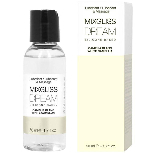 MIXGLISS DREAM LUBRICANTE SILICONA CAMELIA BLANCA 50 ML - Chocolate-Love-sexshop