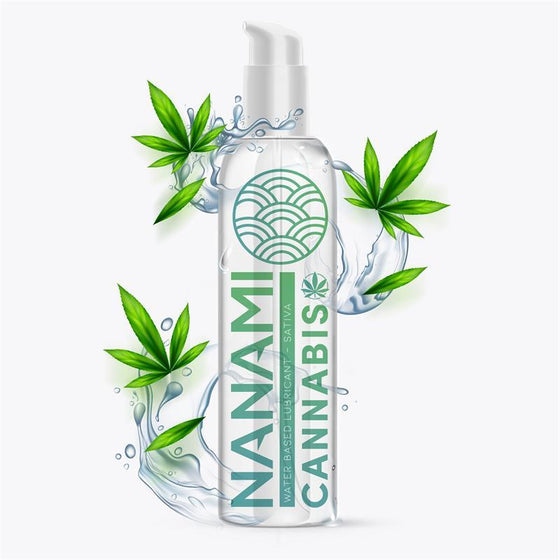 NANAMI LUBRICANTE BASE DE AGUA CANNABIS 150 ML - Chocolate-Love-sexshop