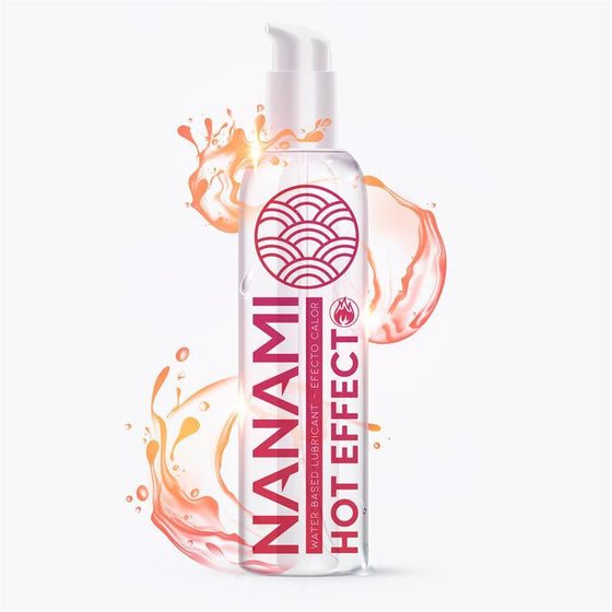 NANAMI LUBRICANTE BASE DE AGUA EFECTO CALOR 150 ML - Chocolate-Love-sexshop