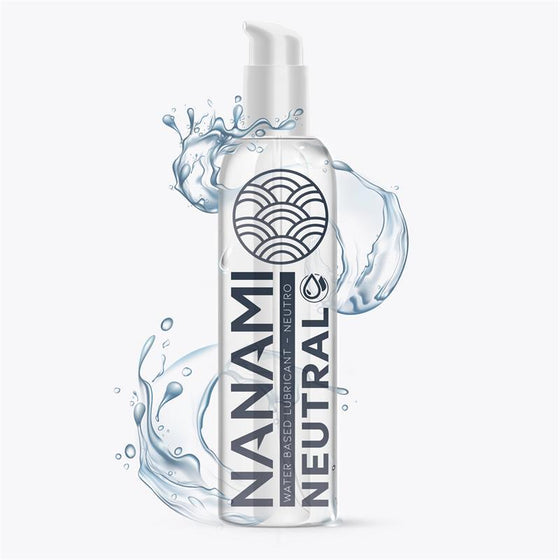 NANAMI LUBRICANTE BASE DE AGUA NEUTRO 150 ML - Chocolate-Love-sexshop