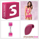 PACK SUBMISSIVE DELIGHT - Chocolate-Love-sexshop
