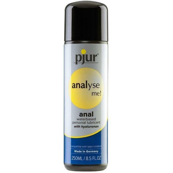 PJUR ANALYSE ME LUBRICANTE AGUA ANAL 250 ML - Chocolate-Love-sexshop