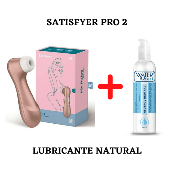 Satisfyer pro 2 + Lubricante natural 150ml - Chocolate Love
