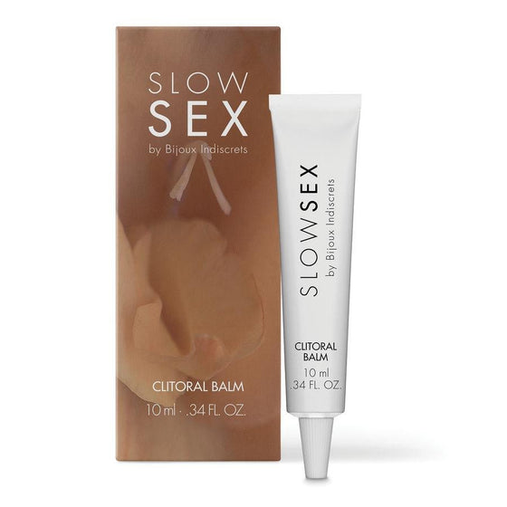 SLOW SEX BALSAMO ESTIMULANTE PARA CLITORIS 10 ML - Chocolate-Love-sexshop