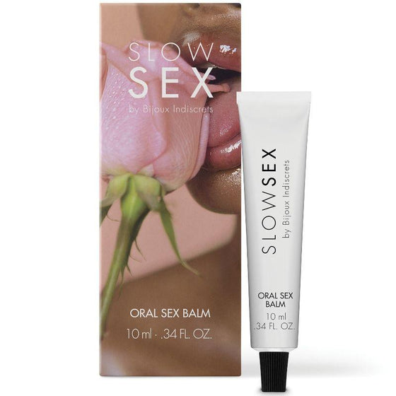 SLOW SEX BALSAMO PARA SEXO ORAL 10 ML - Chocolate-Love-sexshop