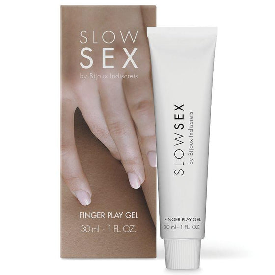 SLOW SEX GEL DE MASAJE CON DEDOS 30 ML - Chocolate-Love-sexshop