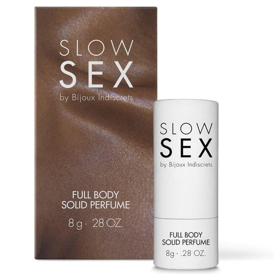 SLOW SEX PERFUME CORPORAL SOLIDO 8 GR - Chocolate-Love-sexshop