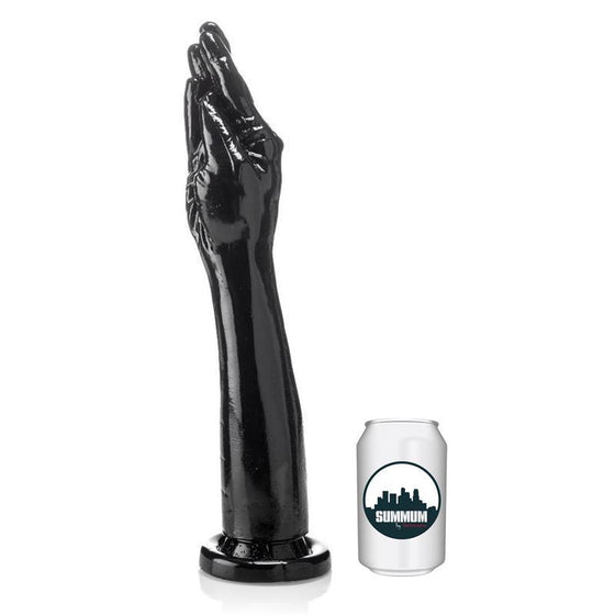 SUMMUM DILDO PARA FISTING 5 FINGERS PLUS 38 CM - Chocolate-Love-sexshop