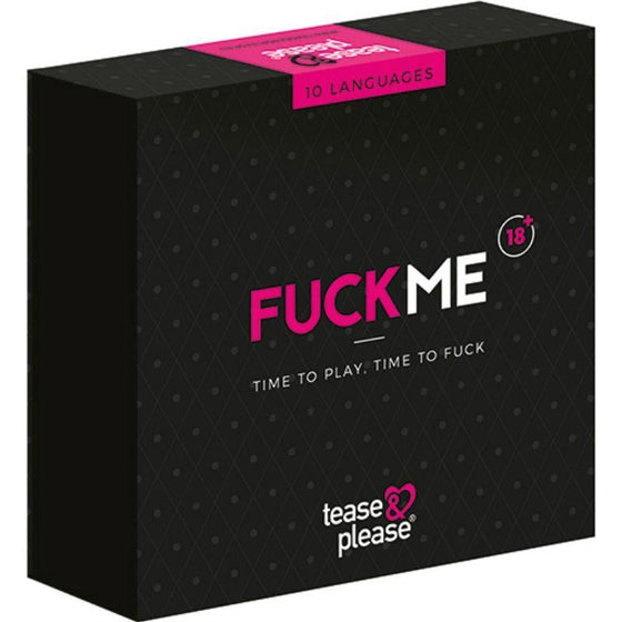 TEASE & PLEASE JUEGO PARA PAREJAS FUCKME - Chocolate-Love-sexshop