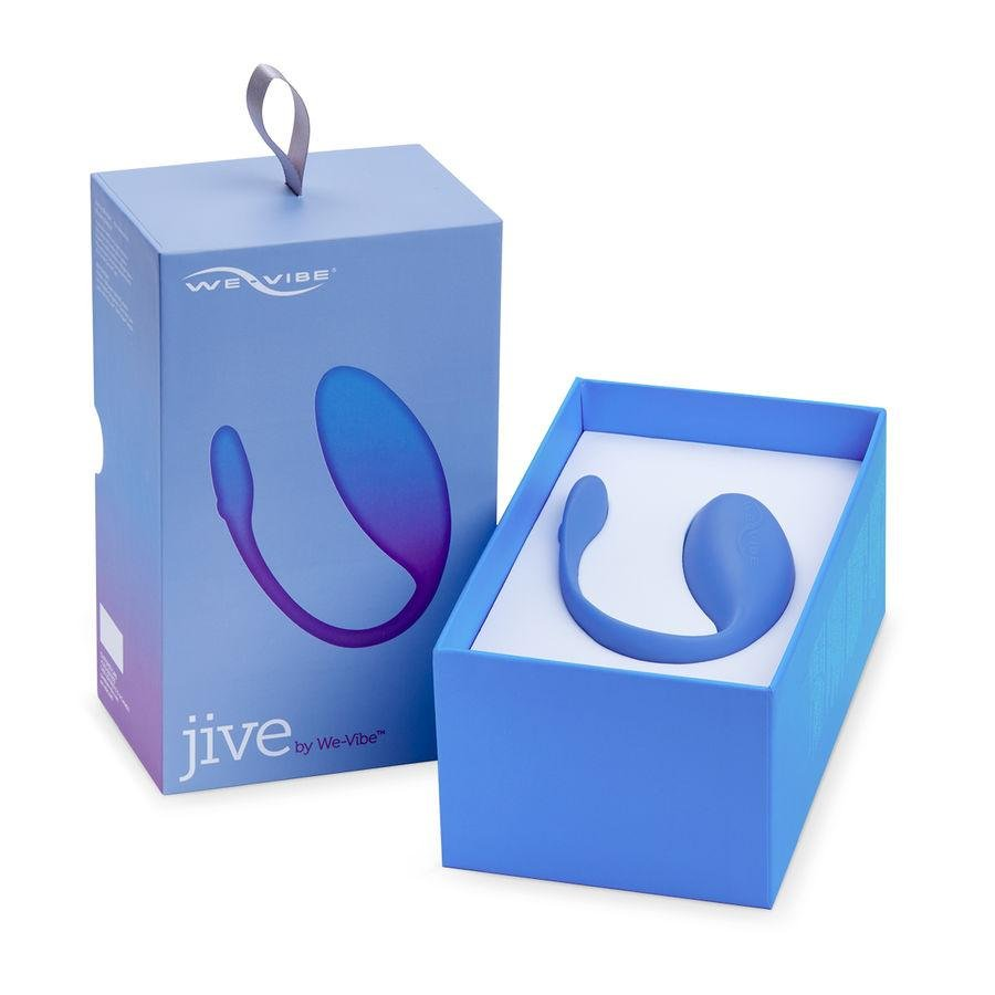 WE-VIBE JIVE VIBRADOR PARA PAREJAS - Chocolate-Love-sexshop