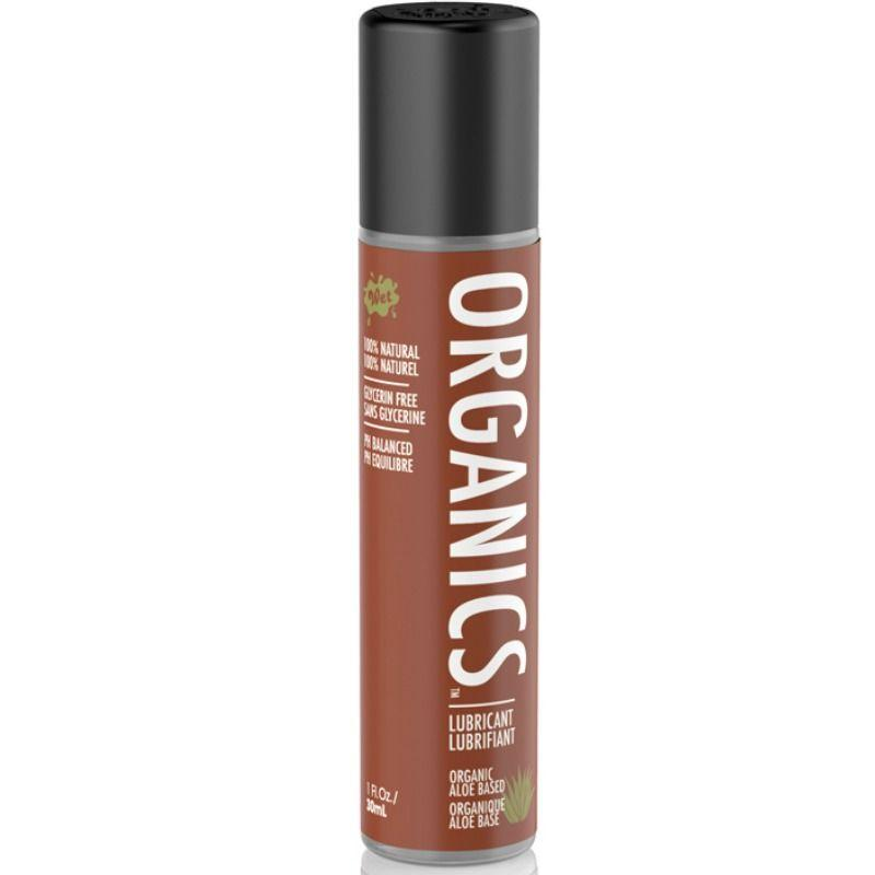 WET LUBRICANTE NATURAL ORGANICO 30 ML - Chocolate-Love-sexshop