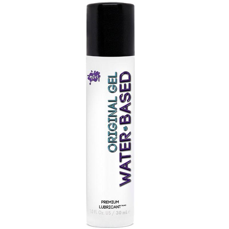 WET ORIGINAL LUBRICANTE BASE DE AGUA 30ML - Chocolate-Love-sexshop