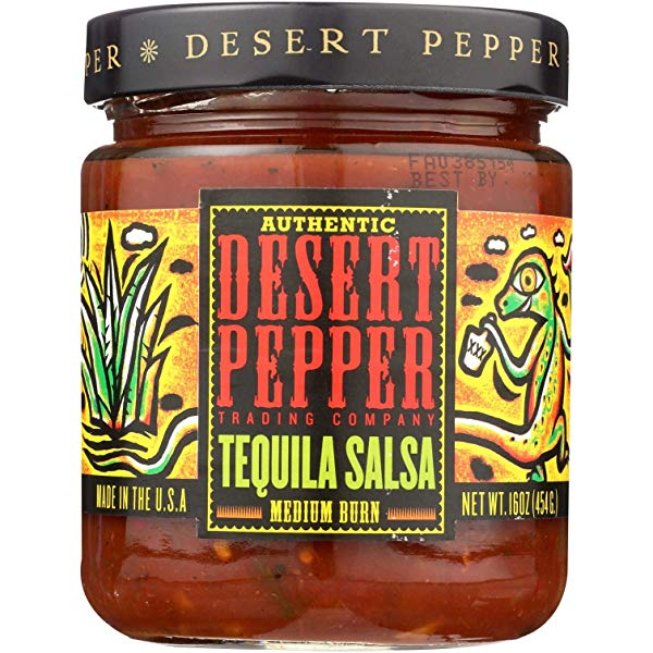 Authentic desert pepper trading company habanero salsa hot
