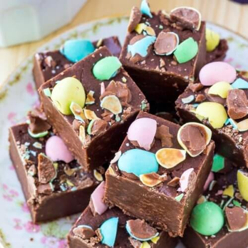 Choc Speckle Egg - Fudge
