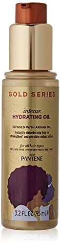 Pantene Gold Series Hair Oil with Argan Oil, 95ml