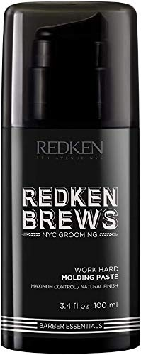 Redken For Men Work Hard Molding Paste 100ml / 3.4 fl.oz.