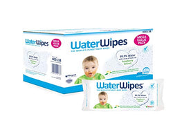 WaterWipes Baby Wipes Gentle All Over Cleansing Wipes with Soapberry, 12 Packs x 60 Wipes (720 Wipes)