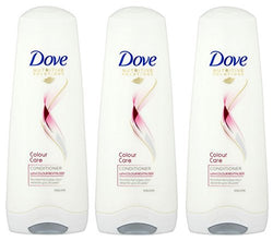 THREE PACKS of Dove Conditioner Colour Radiance 200ml