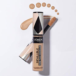 L'Oreal Paris Infallible Longwear 24HR More Than Concealer, Matte Finish, (331 Latte)