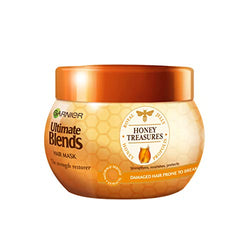 Garnier Ultimate Blends Hair Mask | Honey Treasures Strengthening Hair Treatment for Dry, Fragile Hair | 300 ml