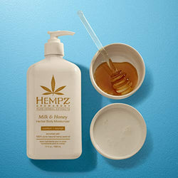 Hempz Milk and Honey Herbal Body Moisturiser (500ml)