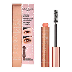 L'Oréal Paris Paradise, Intense Volume, Castor Oil-Enriched, Eyelash Lengthening Mascara. Flake Free Formula. Soft Mascara Brush Included