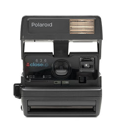Polaroid Originals 4715 600 One Step Close up Instant Camera - Black