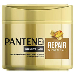 Pantene Hair Mask Repair and Protect, Repairs for Smooth and Shiny Hair, 300 ml, Hair Masks for Dry Damaged Hair Coloured, Repair All Types of Hair at Home, Use as Need to Repair Damaged Hair